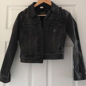 Levi's black denim jean jacket